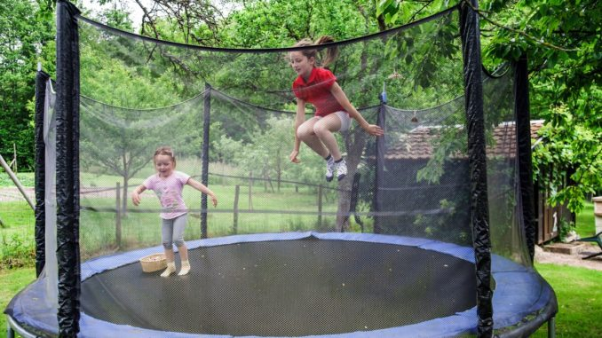 trampolin - sikkerhed