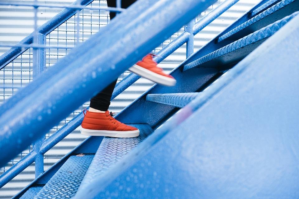 Gå på trapper
